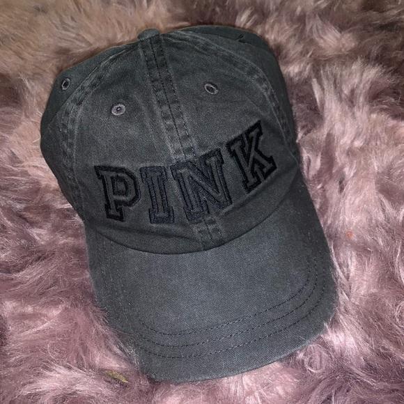 872fd44c PINK Victoria's Secret Accessories | Vs Pink Charcoalgray Cap | Poshmark